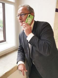 DSGVO-Hotline: D. Eisel-Eiselsberg freut sich über Zuspruch.