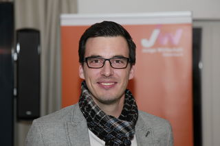 Marc Fauster ist der Vorsitzende der Jungen Wirtschaft im Bezirk Südoststeiermark.