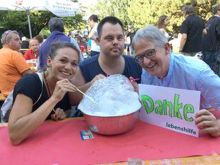 Danke! Assistntin Dagmar Sonnweber, Daniel Rieder, GF Georg Willeit.