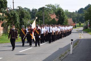 302 Mitglieder feierten mit der Feuerwehr Perbersdorf.
