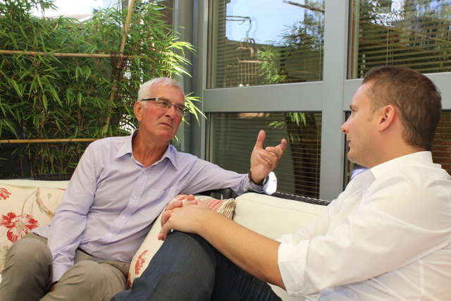 Sommerinterview mit Landesrat Elmar Podgorschek (FPÖ): Der Landesrat im Gespräch mit Thomas Kramesberger (BezirksRundschau).