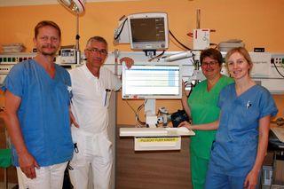 Freuen sich über das neue Programm im Landesklinikum: Robert Resel, Kurt Schlögl, Andrea Buchebner und Julia Jungwirth.