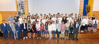 69 niederösterreichische Lehrlinge werden bald auf die Walz ins Ausland geschickt.