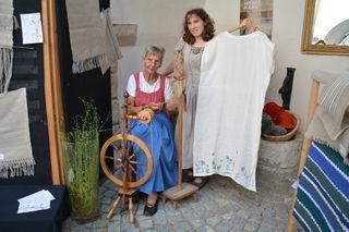 Rosa Stängl aus Lunz und Susanne Bläumauer aus Gaming.