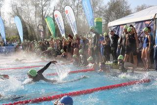 Im Vorjahr gingen 450 Teilnehmer an den Start des 24-Stunden-Schwimmens in der Parktherme Bad Radkersburg.