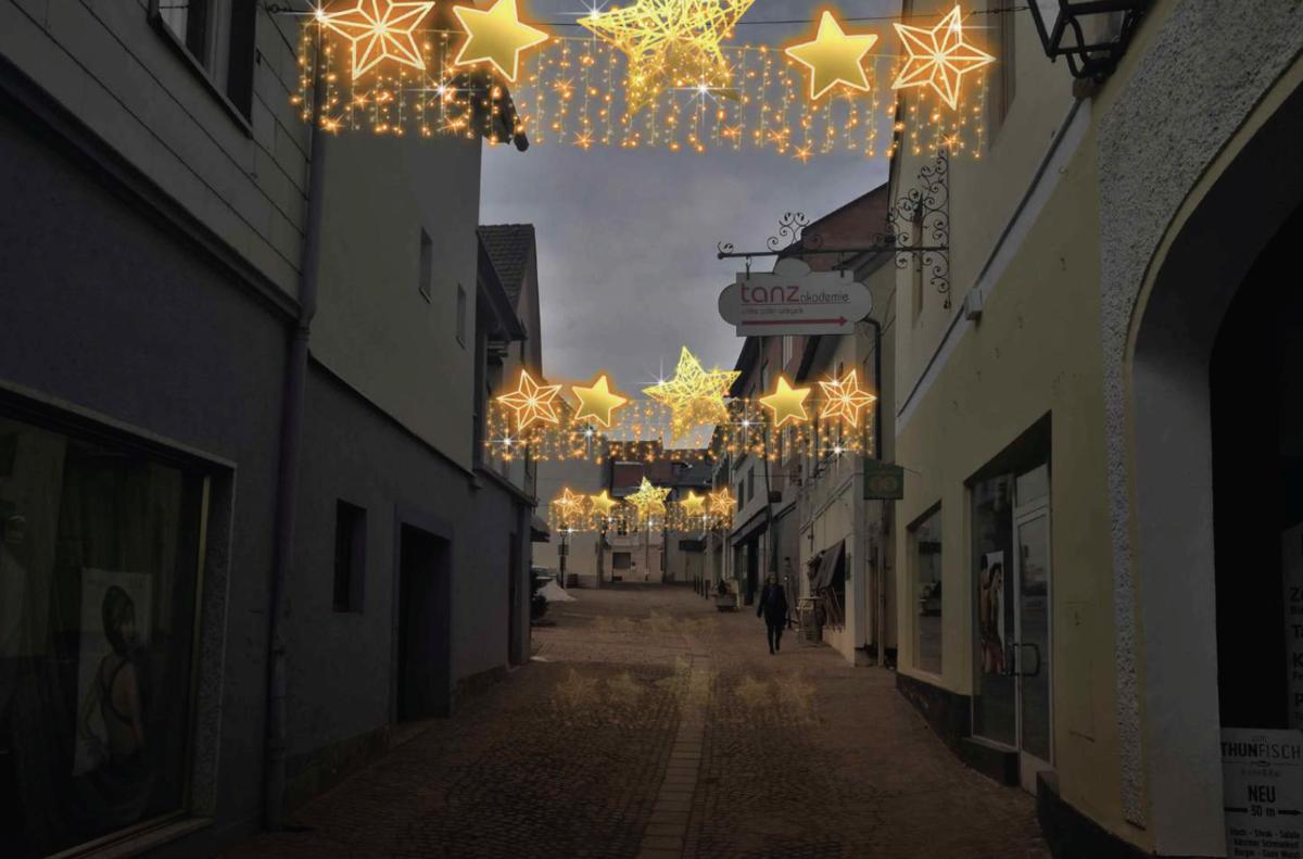 Netto Weihnachtsbeleuchtung.Im Advent Gehen In Feldkirchen Neue Lichter An Feldkirchen