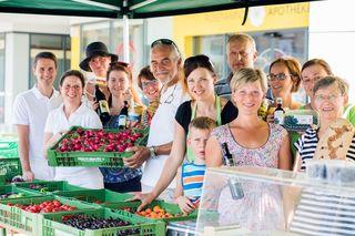 Direkt bei den Bauern aus der Atterseeregion einkaufen kann man am Donnerstag, 9. August, von 9 bis 13 Uhr.