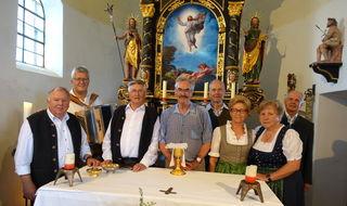 Der Seniorenbund Hopfgarten feierte eine heilige Messe in der Salvenkirche.