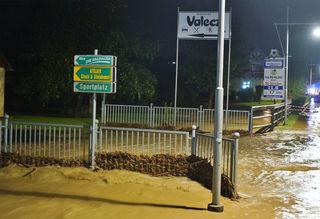 In Paldau kam es zu Überflutungen.