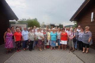 die reiselustigen Pensionisten aus Wieselburg