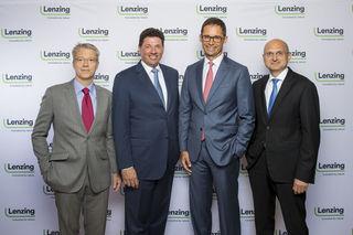 Das Vorstandsteam Heiko Arnold, Robert van de Kerkhof, Stefan Doboczky und Thomas Obendrauf (v.l.).