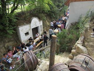 Weinviertel vom Feinsten in der Kellergasse Oberkreuzstetten.