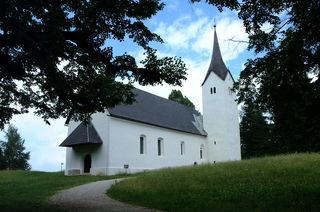 Die Wallfahrtskirche am Hemmaberg