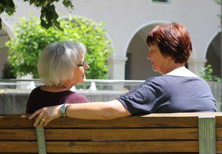 Zur Zeit sind rund 300 Sozialbegleiterinnen in der Steiermark tätig, die ihren Klienten Gespräche und Unterstützung bieten.