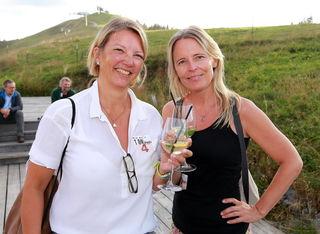 Margit Unterberger und Karin Hölzl.