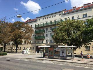 Der Goethehof in Kaisermühlen wurde zwischen 1929 und 1930 errichtet. In den vergangenen Jahren wurde er umfangreich saniert.