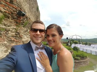 Auch Rudolf Sigmund und Judith Gibiser haben sich entschieden, am ominösen 18.8.2018 zu heiraten. Sie tun es auf der Burg Güssing.