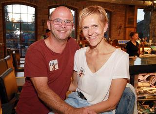 Hans Mitteregger mit Claudia Mitteregger-Stania.