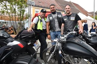 Harald Lintschnig, Günter Schweiger und Oliver Bamberger vom Motorsportclub Brückl (von links)