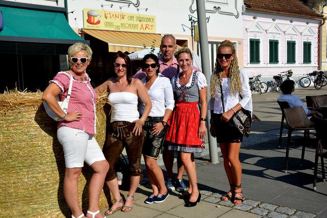 Vom 24. bis 26. August ist der Hauptplatz Festkulisse. Besucher in Tracht sind herzlichst willkommen.