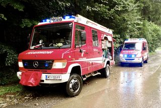 Die Feuerwehr musste wieder in den Möschitzgraben. Foto: Mlakar