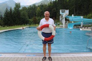 An warmen Tagen wacht Grubelnik über 400 Gäste