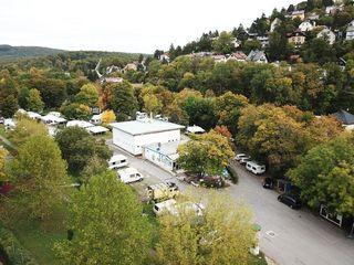 Heute ist hier ein Campingplatz: Auf die Kordonsiedlung am Satzberg gingen 1944 Bomben nieder. 66 Menschen starben.