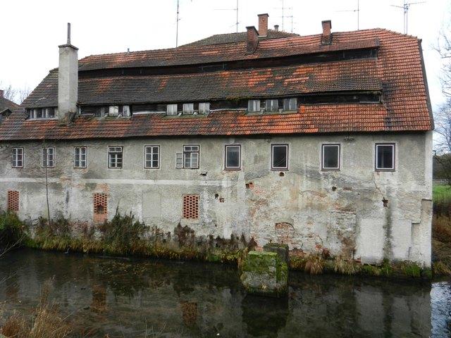 Die Papiermühle aus dem 15. Jahrhundert vorher.