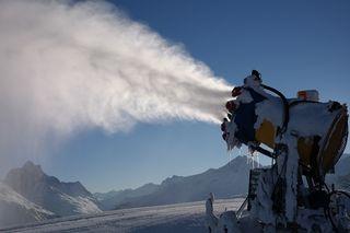 Die Erzeugung von Kunstschnee beschäftigt die Tiroler Landesregierung Credit: pixabay