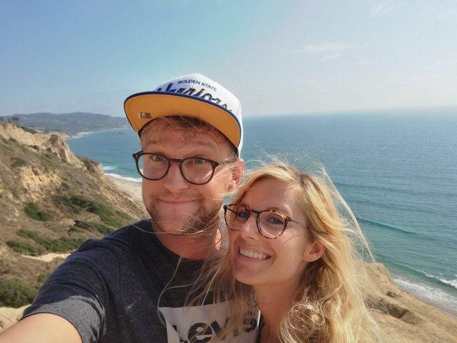 Lieben Hotelbuffets: Chrissi Klug und Walter Wenegger urlaubten unlängst in San Diego und ließen es sich dort schmecken.