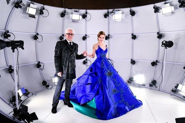 """Models konnten 3D-Scans von sich anfertigen. Der Full Body Scanner """"Big Alice"""" wurde vom Grazer Christof Kirschner vorgestellt."""