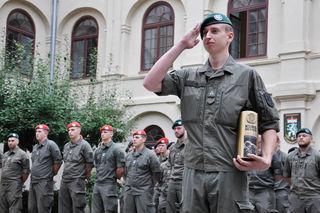 Der 22-jährige Maximilian Hirt wurde Kursbester bei der Kaderanwärterausbildung 2/Jäger in Straß
