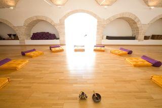 Yogaraum im La Rosa