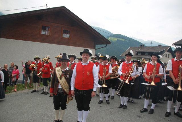 Musikalische Partnerschaft zwischen Marktoffingen/Bayern und der Les. Bauernkapelle St. Lorenzen