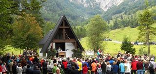 Am 2. September feiert man im Kaiserbachtal eine Gedenkmesse für alle abgestürzten Bergkameraden.