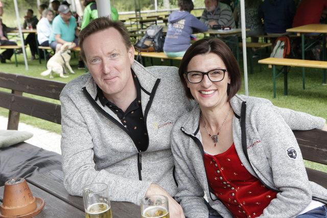 Bgm. Christian Müller und Monika Truppe