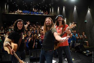 Mit rockigen Countrytönen und emotionalem Westcoast Sound stand die sympatische amerikanische Band HIGH SOUTH für einen guten Zweck auf der Bühne