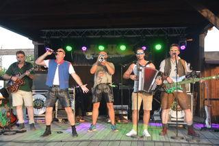 Cäpt'n Klug und die Zwergsteirer standen erstmals in der Lucky Town-Music Hall.