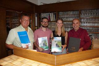 Franz Hansbauer, Christopher Zalar, Lisa Pöllibauer und Manfred Prettenthaler präsentierten das Pilotprojekt.
