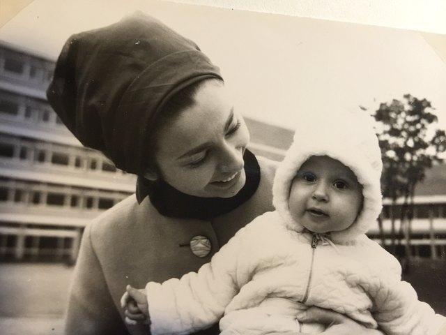 als junge MUTTER 1968