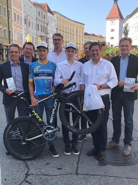 Das Team Felbermayr Simplon ist die Galionsfigur für die Rennradregion Wels