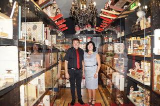 Auf 300 Quadratmetern richteten Wolfgang und Sylvia Preschan das Spielemuseum zauberhaft ein.