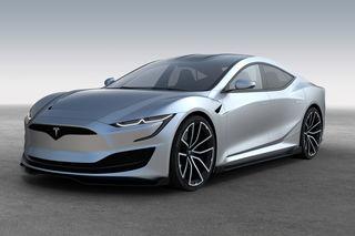 Knackige Coupé-Limousine im Stil von US-Musclecars: So stellt sich Designer Emre Husmen das nächste Model S von Tesla vor.