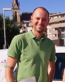 Der 39-Jährige Markus Rosskopf wohnt mit seiner Familie in Flachau und wird ab Mitte Oktober Landesgeschäftsführer von Neos Salzburg.