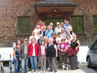 Der Südtiroler Verein Landeck –Zams unternahm am 2. August einen wundervollen Ausflug ins Paznaun aufs Zeinisjoch.
