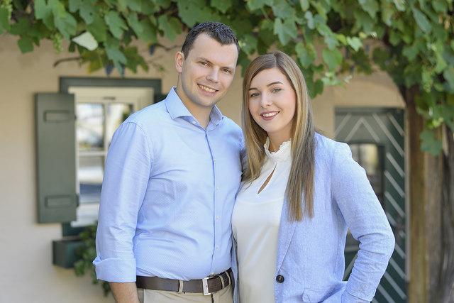 Die beiden Geschäftsführer sind ein Paar: Sommelière Nicole Hainzl und Küchenmeister Philipp Thomüller.
