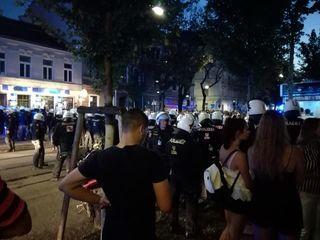Slowakische Hooligans randalierten in Penzing