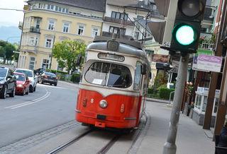Tag der Nostalgie bei der Gmundner Straßenbahn am 25. August.