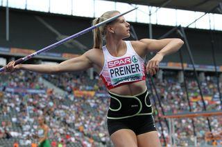 Verena Preiner aus Ebensee stellte bei der EM in Berlin beim Siebenkampf eine neue persönliche Bestmarke auf.