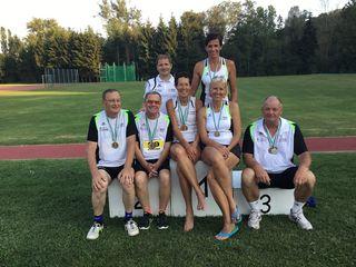 Sehr erfolgreich verliefen die Meisterschaften für die Athleten der SU Kärcher Leibnitz.